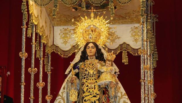 La Virgen del Carmen Coronada de Rute