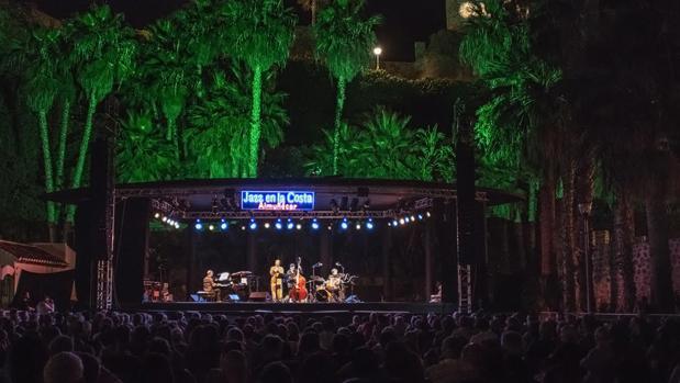 El Festival de Jazz en la Costa se celebra cada año en el Parque del Majuelo de Almuñécar.