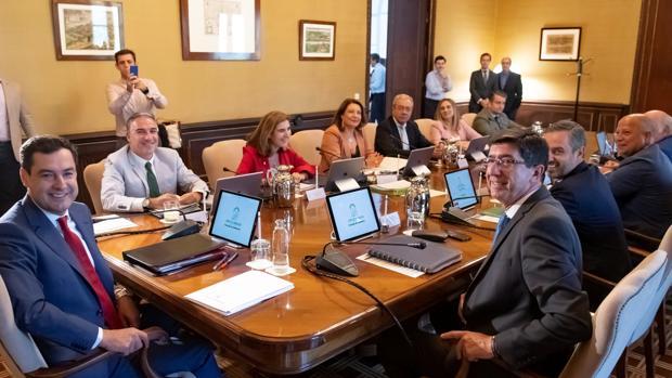 El Consejo de Gobierno reunido este martes en San Telmo