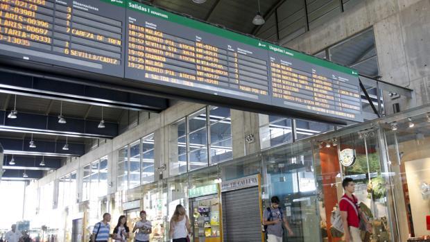 Estación de Renfe de Córdoba
