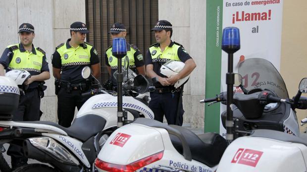Un acto de presentación de la Policía Local de Córdoba