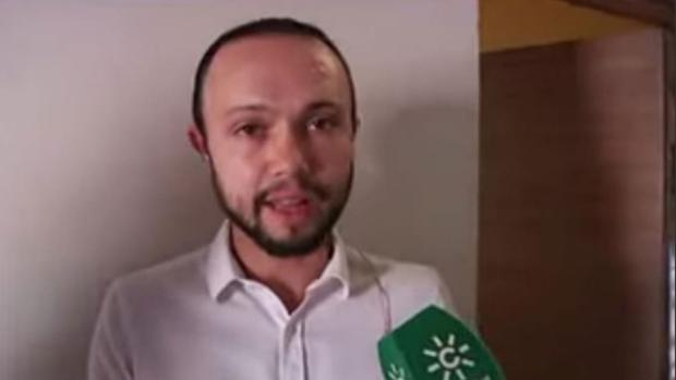 Sandro Marín en una intervención en Canal Sur