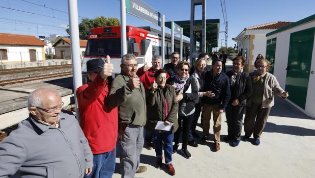 Acto de inauguración del llamado «Cercanías» el pasado 18 de octubre