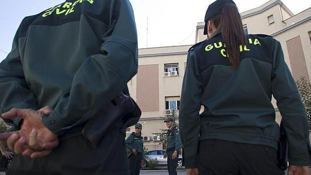 Agentes de la Guardia Civil en una foto de archivo