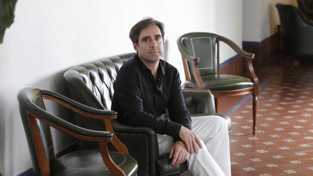 Carlos Domínguez Nieto en una entrevista para ABC