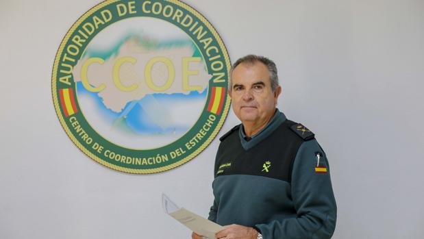 El general de brigada de la Guardia Civil Manuel Contreras