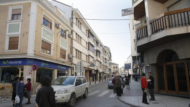 Imagen de archivo de una calle de Lucena