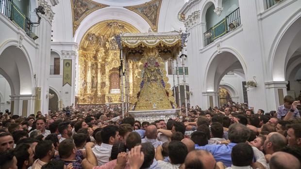 Suspendidos el traslado de la Virgen y la Romería del Rocío