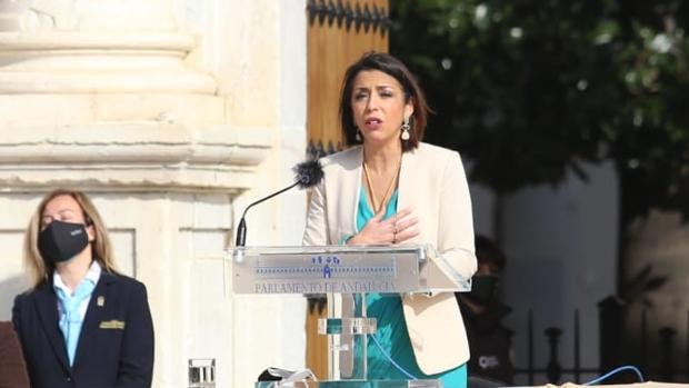 """Marta Bosquet, president of Parliament of Andalusia, calls for """"agreements"""" to overcome the challenges of the pandemic"""