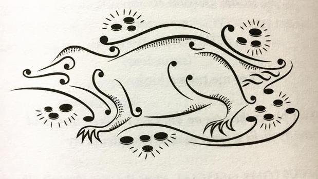 Una de las ilustraciones de «Animales fantásticos y dónde encontrarlos. Guión original de la película»