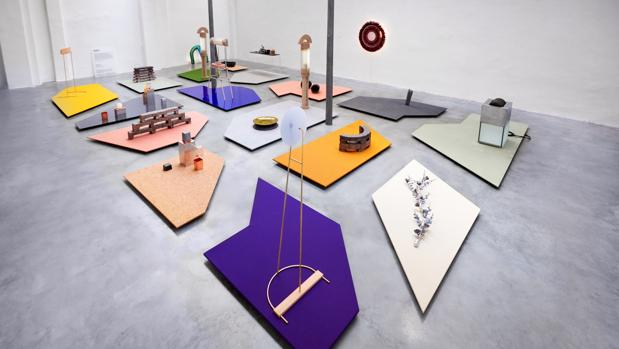 Vista de la exposición «Dutch Invertuals», de diseño holandés