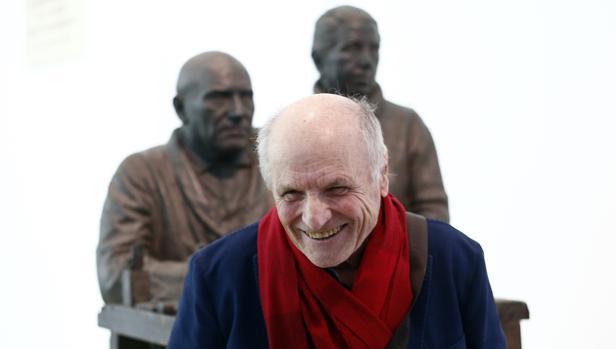 Antonio López, en el Museo Thyssen