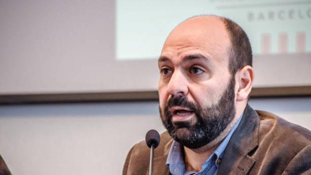 El portavoz de Òmnium Cultural, Marcel Maurí