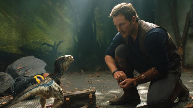 Una escena de «Jurassic World», de J. A.. Bayona, líder de la taquilla española
