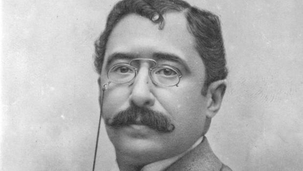 Retrato de Mariano de Cavia en 1899
