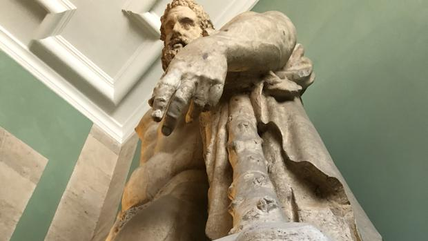 El Hércules Farnese, en la Real Academia de las Artes de San Fernando