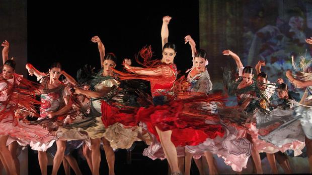 Espectáculo de flamenco celebrado en Barcelona