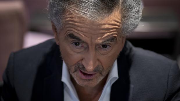 Bernard-Henri Lévy, durante su entrevista con ABC