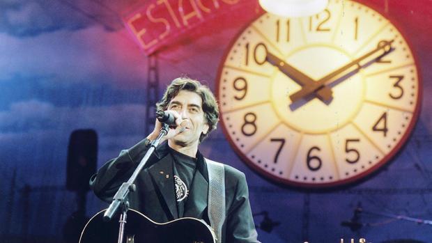 Joaquín Sabina, en las presentación del disco «19 días y 500 noches»