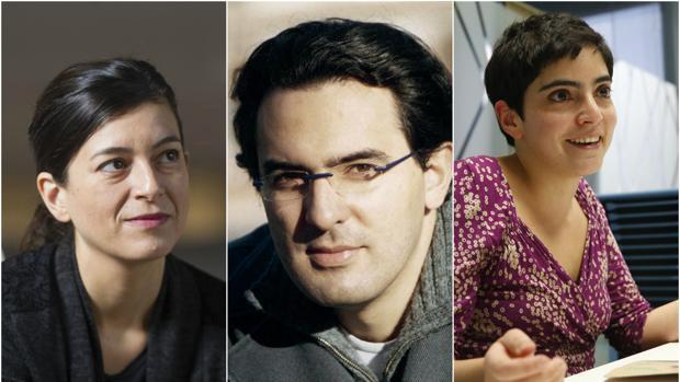Samanta Schweblin, Juan Gabriel Vásquez y Alia Trabucco Zerán