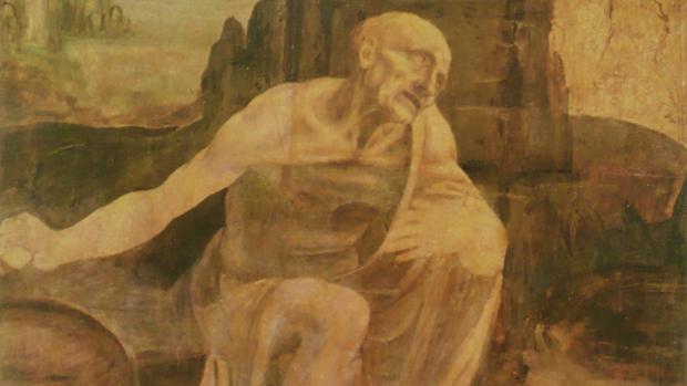 El «San Jerónimo» de Leonardo da Vinci