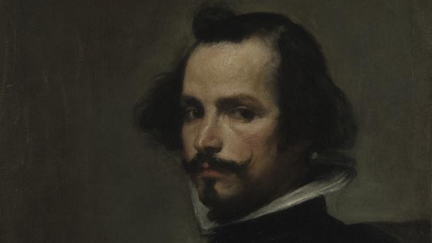 Detalle de «Retrato de hombre» (también conocido como el «Caballero Marquand»), atribuido a Velázquez