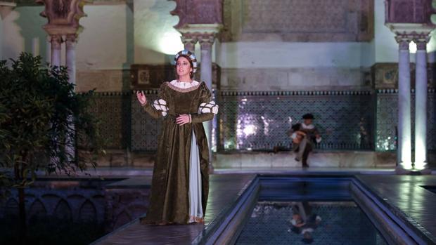 La Companía Teatro Clásico de Sevilla propone una serie de acciones escénicas nocturnas dentro del Real Alcázar de Sevilla