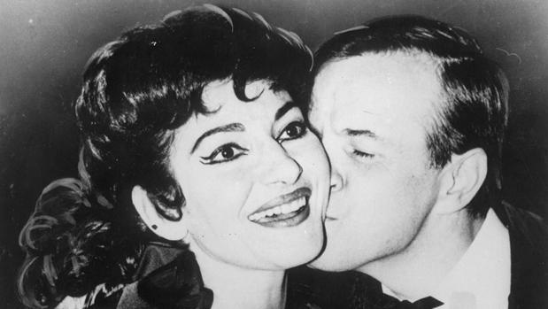 Maria Callas trabajó en varias ocasiones con Zeffirelli, que llegó a convertirse en uno de sus mejores amigos
