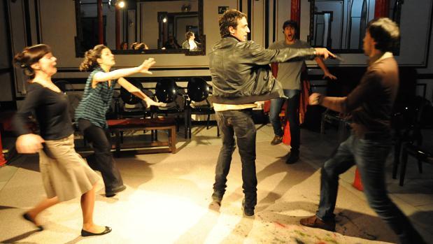 Una escena de «La función por hacer»