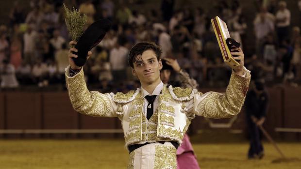 Jaime González-Écija, triunfador este jueves en la final del ciclo de promoción