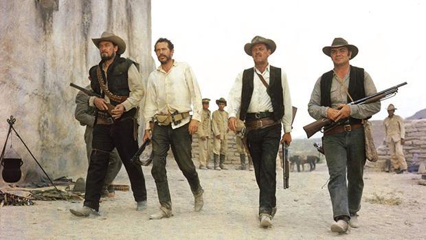Fotograma de la película «Grupo salvaje»