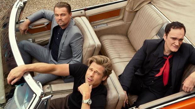 Leonardo DiCaprio, Brad Pitt y Quentin Tarantino