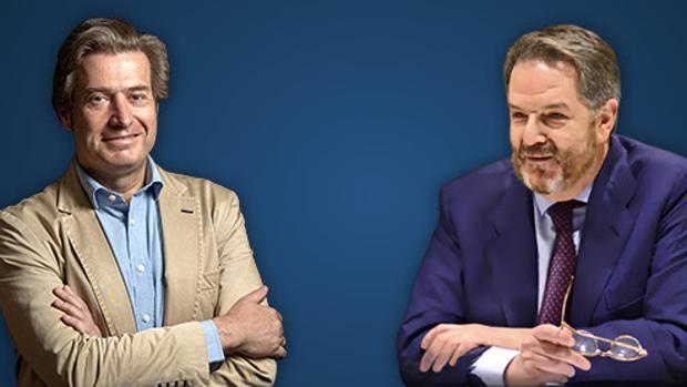 El filósofo Javier Gomá y el director de ABC, Bieto Rubido