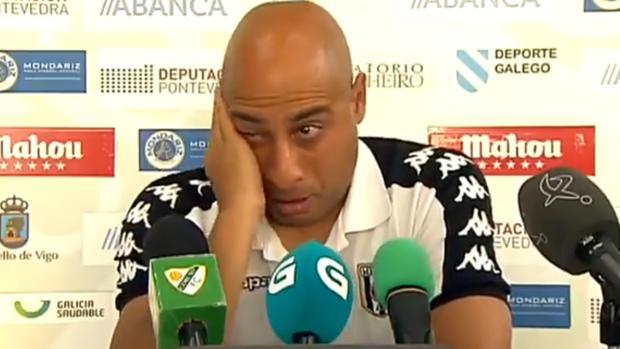 Nafti, entrenador del Mérida tras el descenso ante el Coruxo