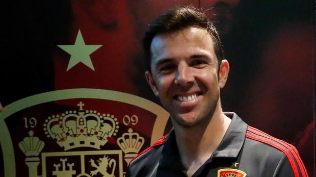 Marchena al incorporarse al cuerpo técnico de la selección española para el presente Mundial