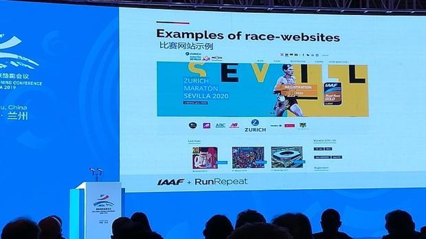 El Zurich Maratón de Sevilla, en las proyecciones del Congreso IAAF