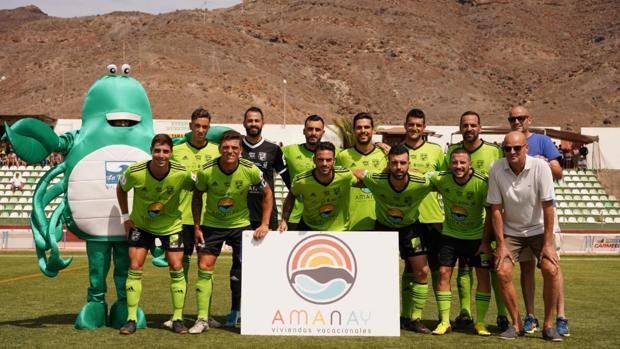 La UD Gran Tarajal canario, uno de los clubes de Regional que jugarán la Copa