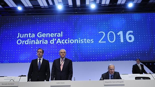 Junta general de accionistas de La Caixa en 2016