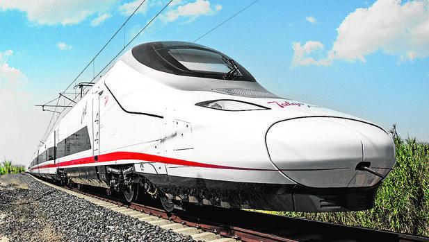Talgo compite en el concurso con su tren Avril