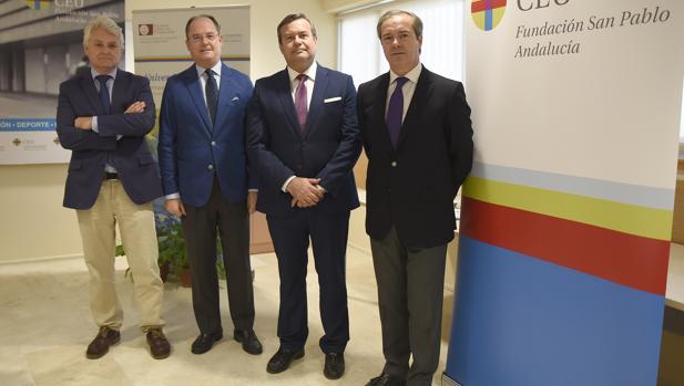 Juan manuel vega, Enrique Belloso, Juan Carlos Hernández Buades y Antonio Pérez Ostos