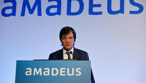 El consejero delegago de Amadeus, Luis Maroto