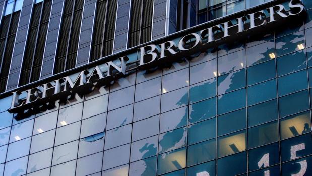 Fachada de Lehman Brothers en Nueva York