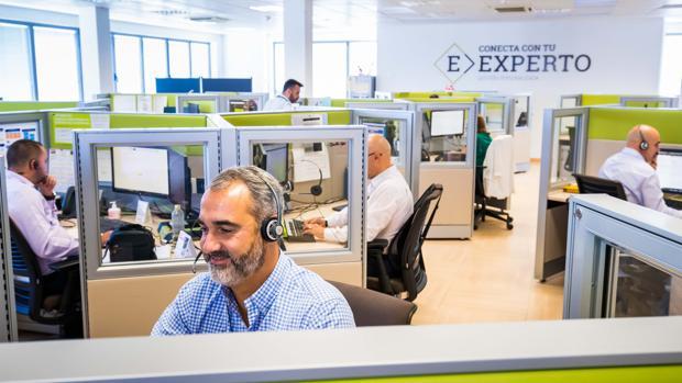 Centro de gestores personales a distancia de Bankia en Madrid