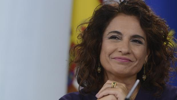 La ministra de Hacienda, María Jesús Montero, en la última rueda de prensa posterior al Consejo de Ministros