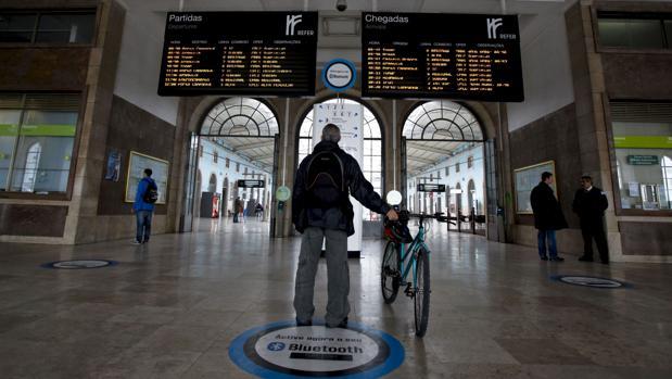 Estación de trenes de Lisboa