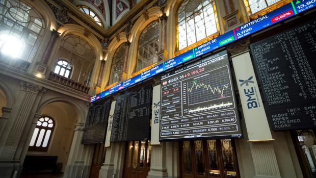 La Bolsa de Madrid, en la sesión del pasado 28 de febrero
