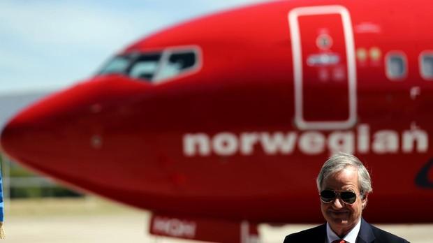 Bjorn Kjos, CEO de Norwegian