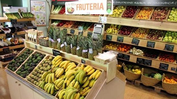 Tienda especializada en alimentación ecológica