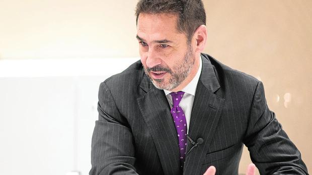 Juan Antonio Gómez-Pintado es presidente de Vía Célere y de la APCE