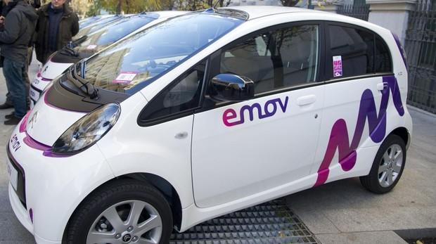 Presentación de los coches eléctricos de Madrid Emov
